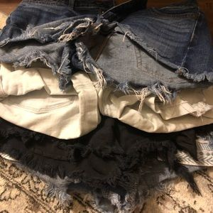 American Eagle 5 short bundle